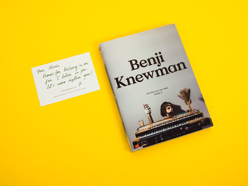 BENJI KNEWMAN  BOOKAZINE 2015