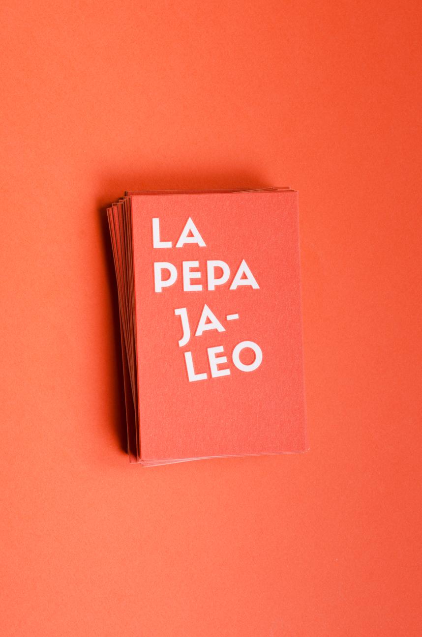 LA PEPA JALEO BRAND IDENTITY 2014