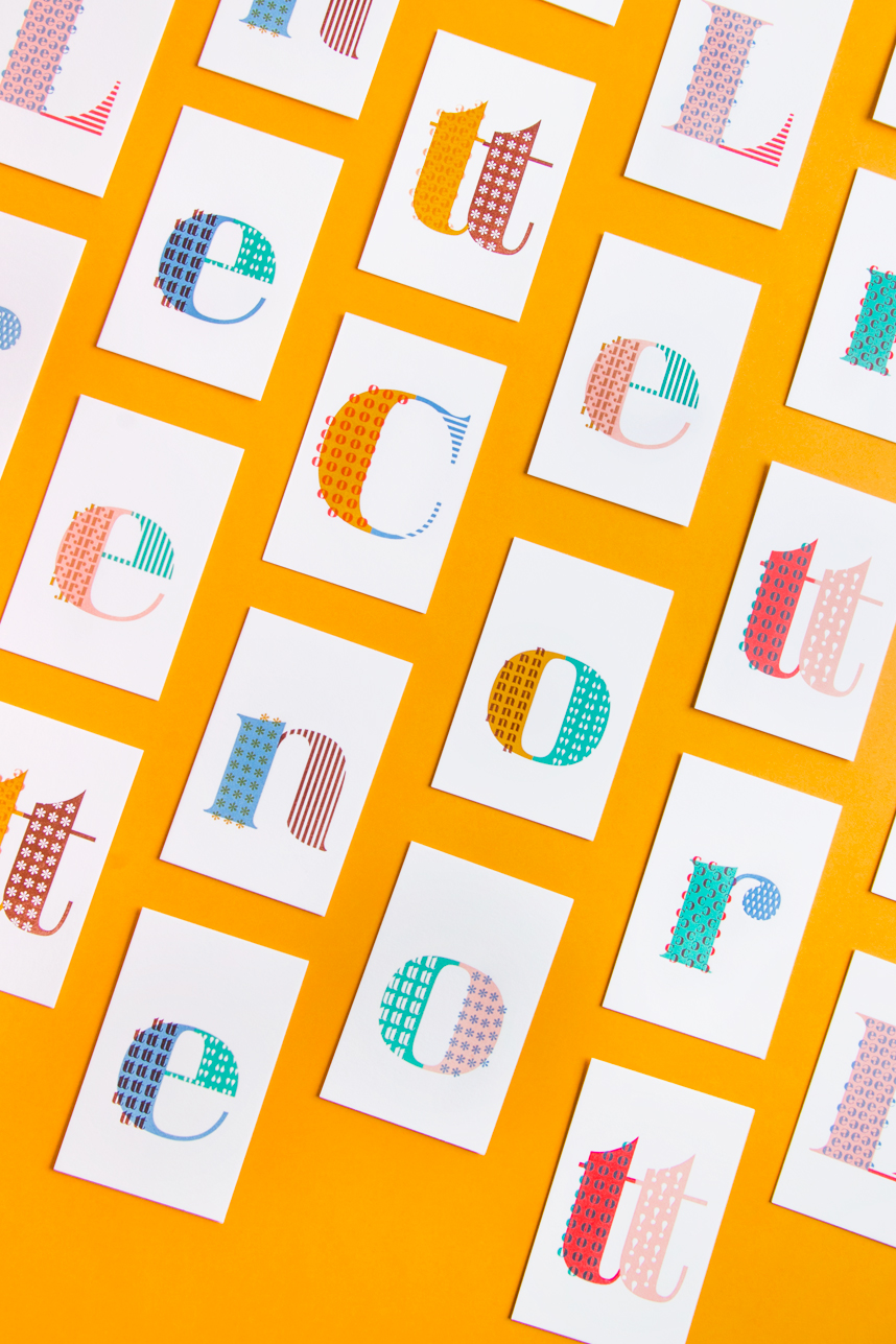 LETTER COTTON