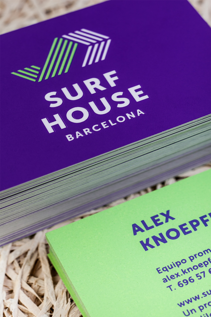 BRAND IDENTITY SURF HOUSE  BARCELONA 2012